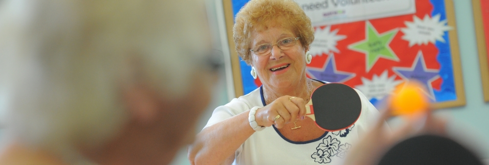 Agewell members enjoy keeping active